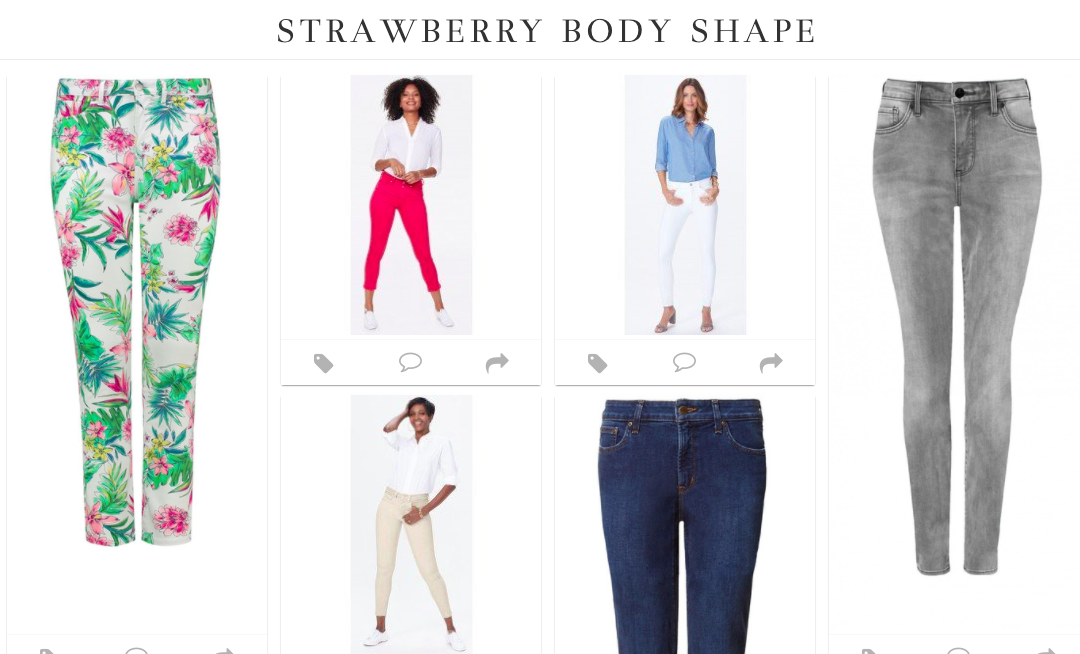 What Shape Jeans For Your Body Shape